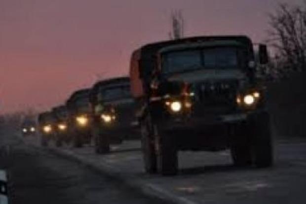 ОБСЄ: Колона російських військових перетнула кордон з Україною