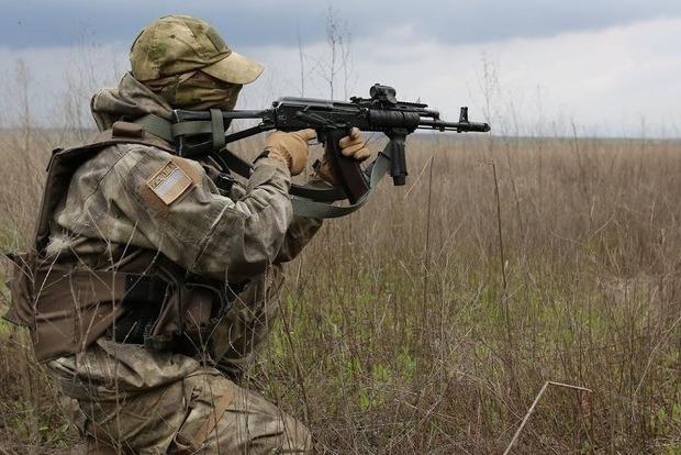 Около Марьинки уничтожена половина диверсионной группы боевиков