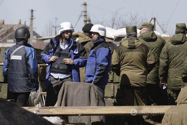 ОБСЕ заметили граждан РФ в военной форме недалеко от Мариуполя