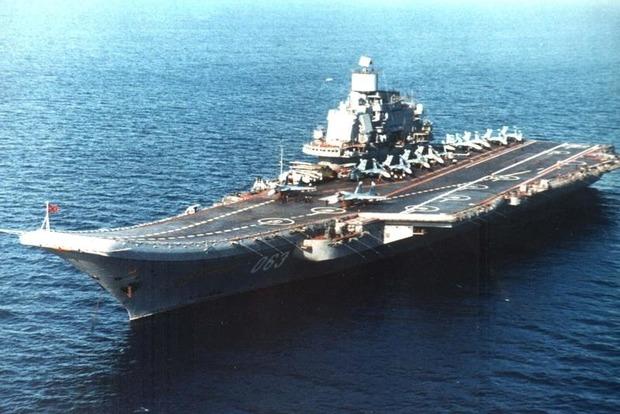 Британия назвала авианосец «Адмирал Кузнецов» «кораблем позора»