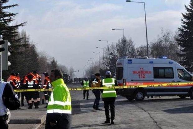 В сети появилось видео с места теракта в турецком Кайсери