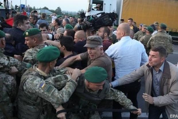 Сакварелидзе вручили подозрение из-за штурма границы с Саакашвили