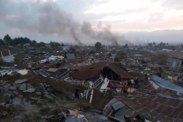 Землетрясение в Индонезии. Число жертв превысило 800