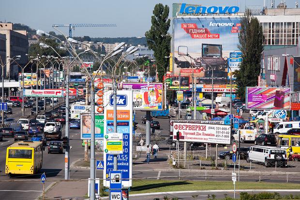 КГГА ускорит процесс демонтажа незаконной рекламы в столице