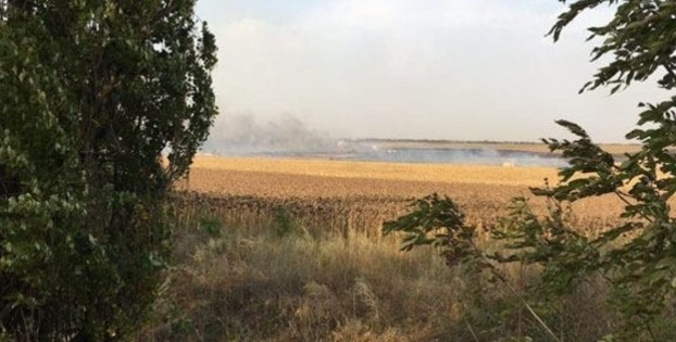 Фото к материалу: В Донецкой области начали взрываться склады с боеприпасами