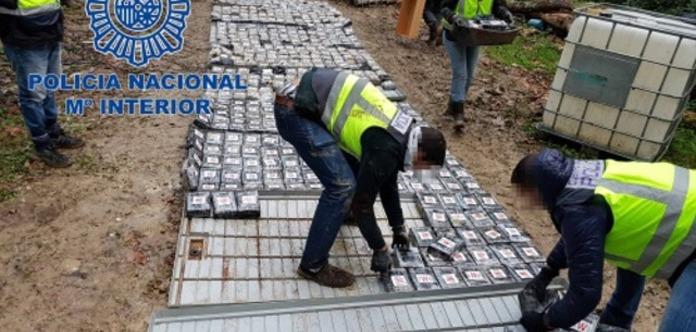 Іспанські вантажники розвозили по Європі 1,2 тонни кокаїну
