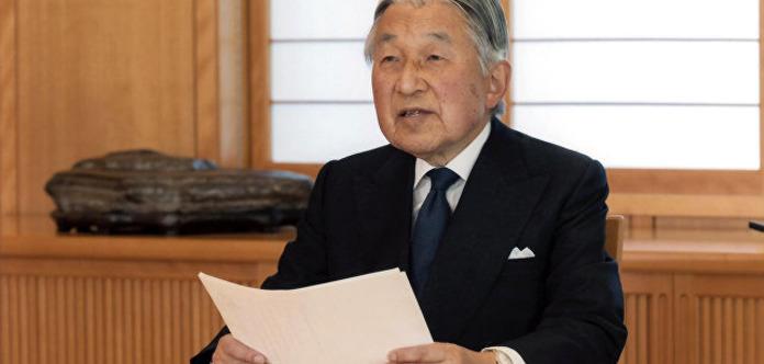 Названа дата отречения японского императора