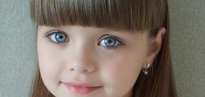 Шестилетнюю Настю назвали самой красивой девочкой в мире