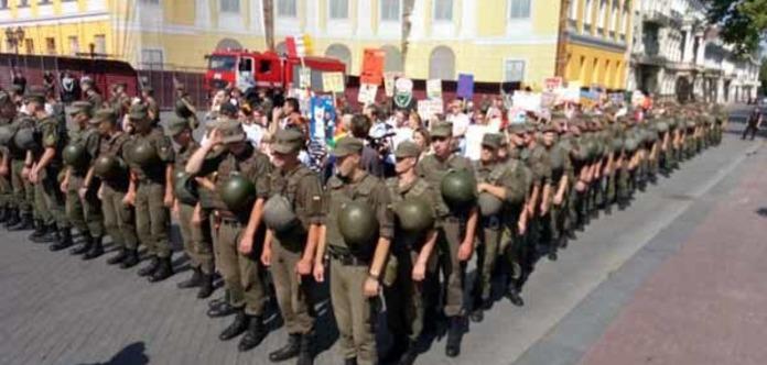 В Одесі проходять акції ЛГБТ і їхніх супротивників