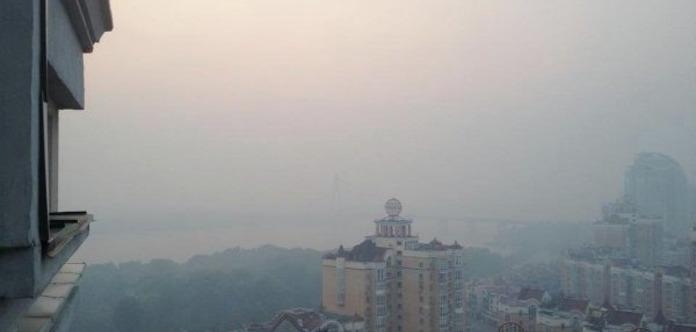 Киев снова может окутать метеорологическая дымка из-за аномальной жары