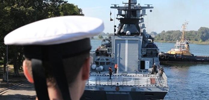 Учения Запад-2017: Корабли Балтийского флота вышли в море