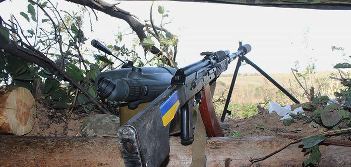 На Донбасі знищили спостережний пункт бойовиків «ДНР»