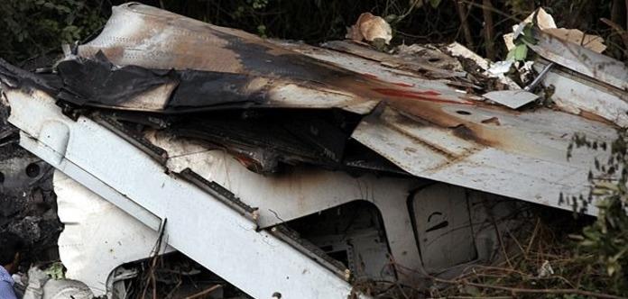 Крушение в РФ военного самолета Як-130. Появилось первое видео