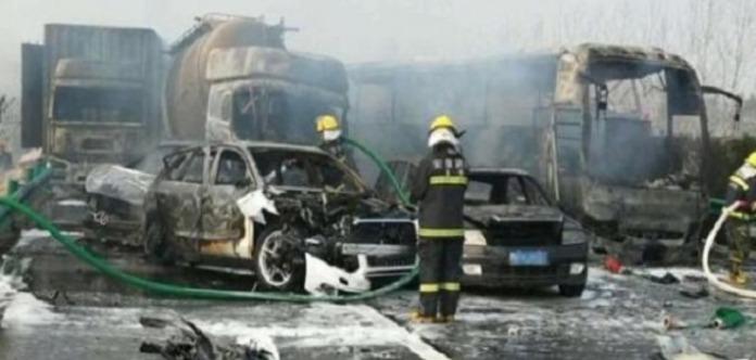 ДТП за участю 30 авто в Китаї: загинуло 18 осіб
