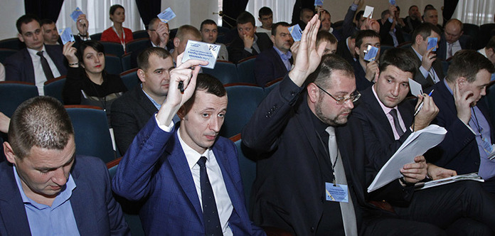 Обрано керівників Ради приватних виконавців