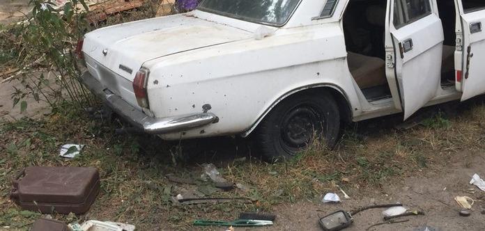 Четверо детей пострадало при взрыве автомобиля в Киеве. Жуткое видео (18+)