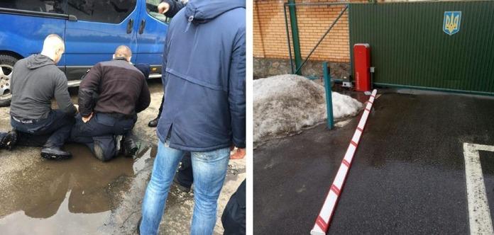 Киевлянин пытался скрыться от патрульных, но протаранил департамент полиции