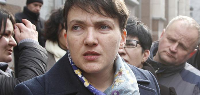 Савченко отправилась на допрос в СБУ: Меня не надо брать на