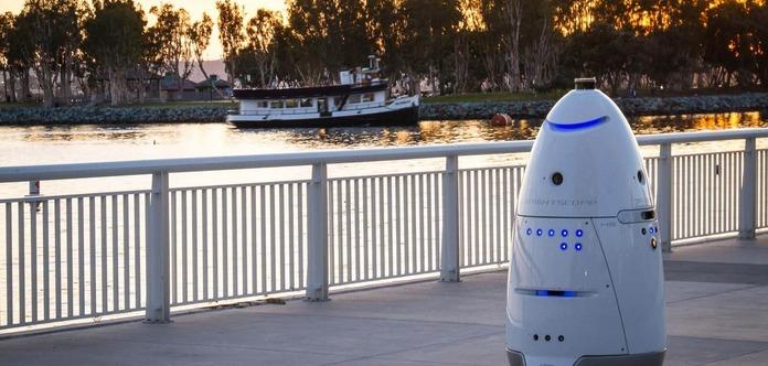В Вашингтоне робот-охранник совершил