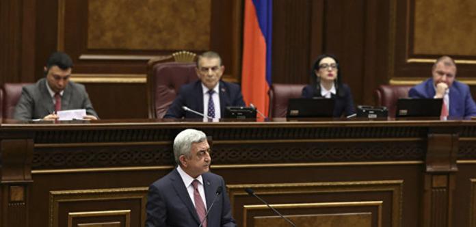 Саргсяна обрали прем'єром Вірменії. Опозиція проводить екстрену нараду