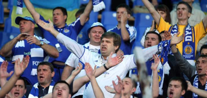 В Киеве напали на сербских болельщиков