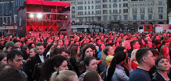 «Арка»: В центре Киева смотрели фильм о катастрофе и думали о будущем ЧАЭС