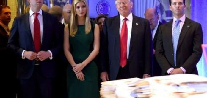 На Трампа и его детей подали в суд