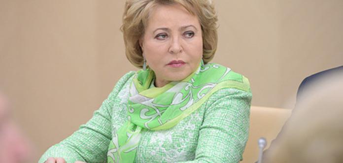 Голова Ради Федерації не побачила логіки в миротворцях на кордоні РФ