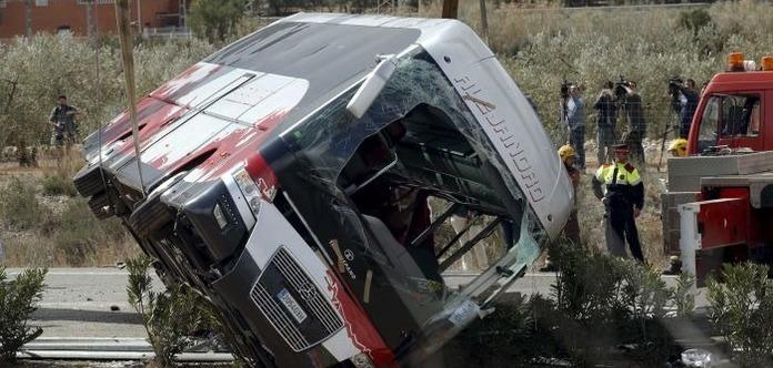 В Эфиопии перевернулся автобус, больше двадцати погибших
