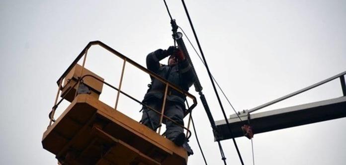 В Марьинке полностью восстановили электроснабжение
