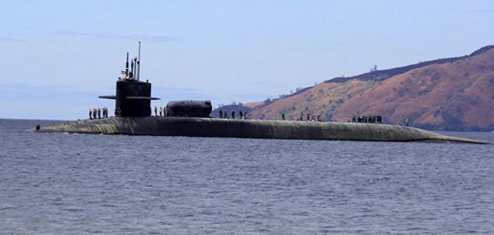 Атомний підводний човен США із «Томагавками» зайшов до порту Південної Кореї
