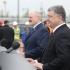 Порошенко: Линия Киев – Минск является осью добра, дружбы и мира