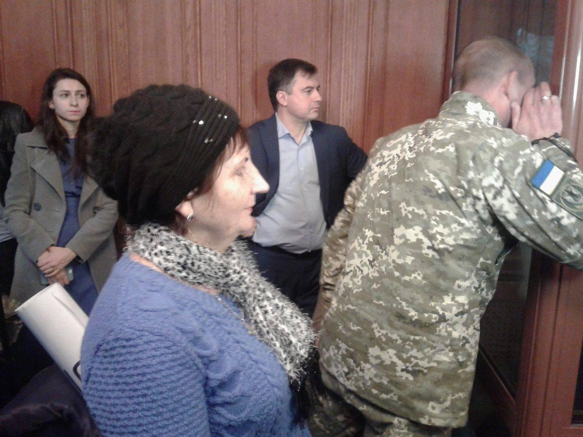 Суд відновив розгляд скарги навирок прикордоннику Колмогорову (трансляція)