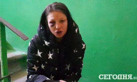 ВКиеве женщина устроила поножовщину наглазах удетей