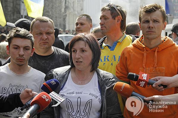 Жгли шины возле АП. Запахло Майданом. АСН. Новости Украины asn.in.ua