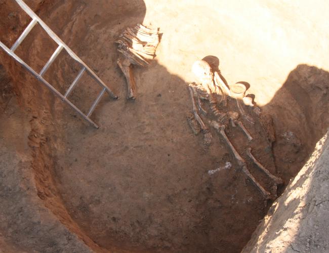НаДнепропетровщине отыскали могилу скифской амазонки