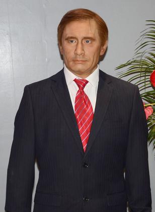 Кім Чен Ин, Путін, Трамп, воскові фігури,