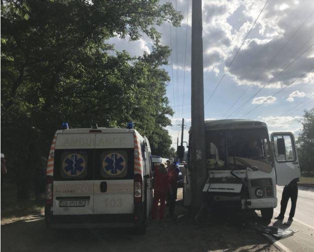 Чернигов, электроопора, пострадавшие, фото