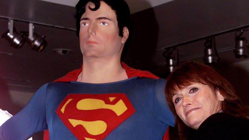 марго киддер, девушка супермена, смерть, болезнь, супермен, актриса