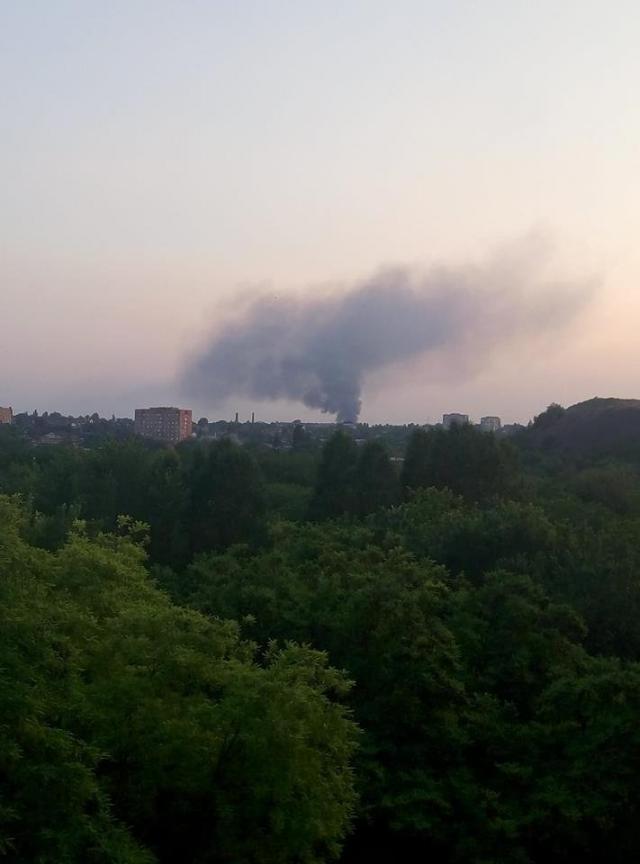 пожар, Донецк, шахта, оккупация