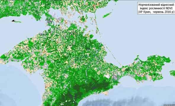 Крим, рослинність, вимирання, екологічна катастрофа