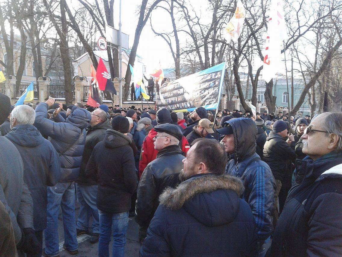 В Киеве задержали организатора блокадного марша Коханивского. Семенченко кричит о ДНР