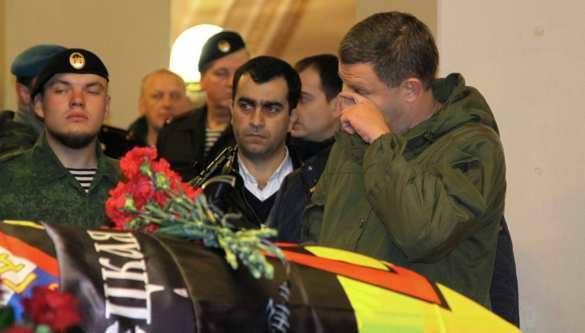 Захарченко пообещал установить монумент Мотороле вСлавянске