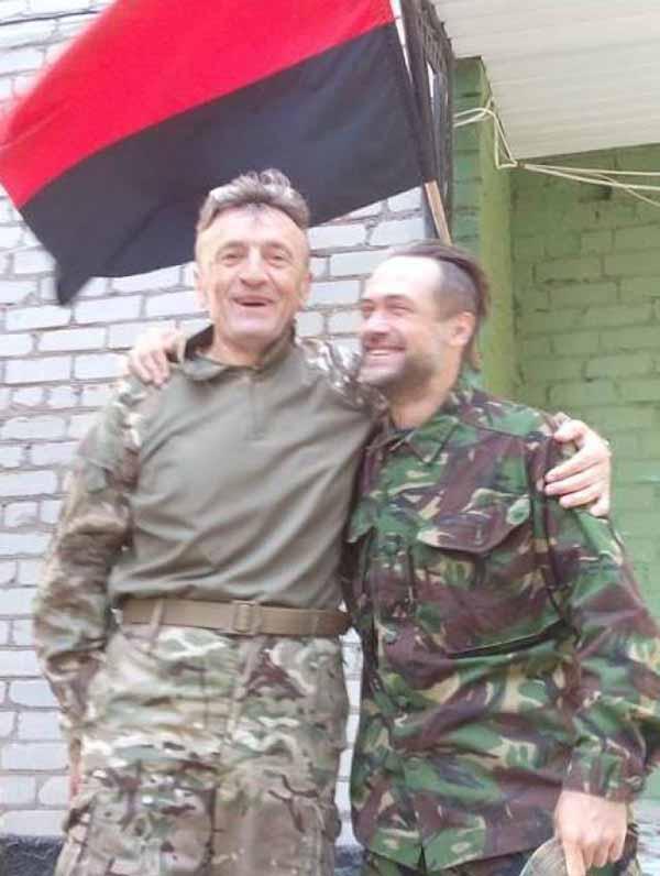 Анатолий Пашинин, актер, Украинская добровольческая армия