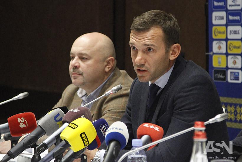 Шевченко сказав, чихоче він далі тренувати Україну