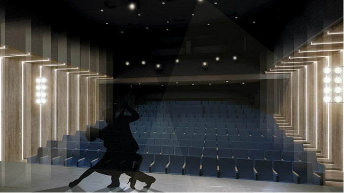 """В Roshen рассказали, почему театр на Подоле """"черный"""""""